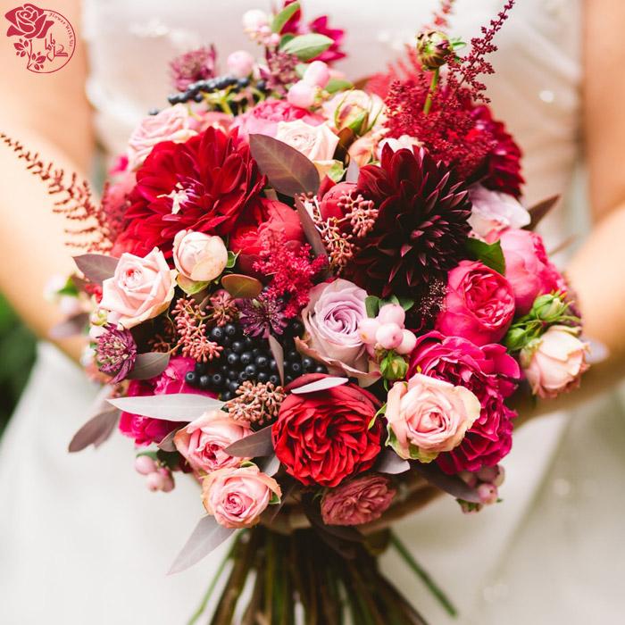 دسته گل روز مادر - گل رز