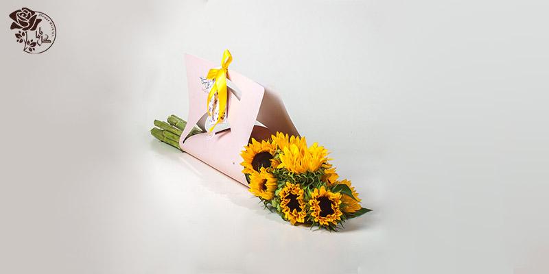 بهترین گل های ولنتاین - گل آفتاب گردان