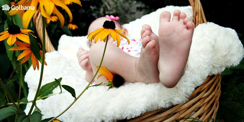 خرید گل بمناسبت تولد نوزاد