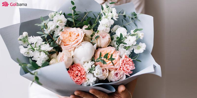 باکس گل هدیه برای بیمار