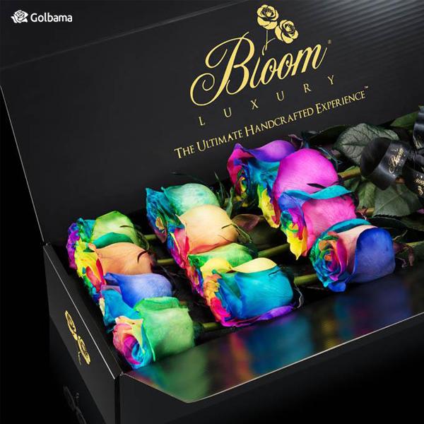باکس گل رز چند رنگ
