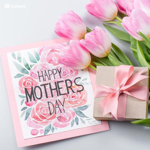 کارت پستال رنگی سورپرایز روز مادر