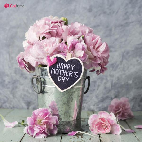 ایدهی کلاسیک سورپرایز روز مادر - گلهای تازه و زیبا