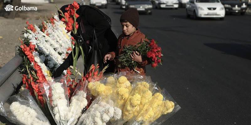 بازار گل بهشت زهرای تهران